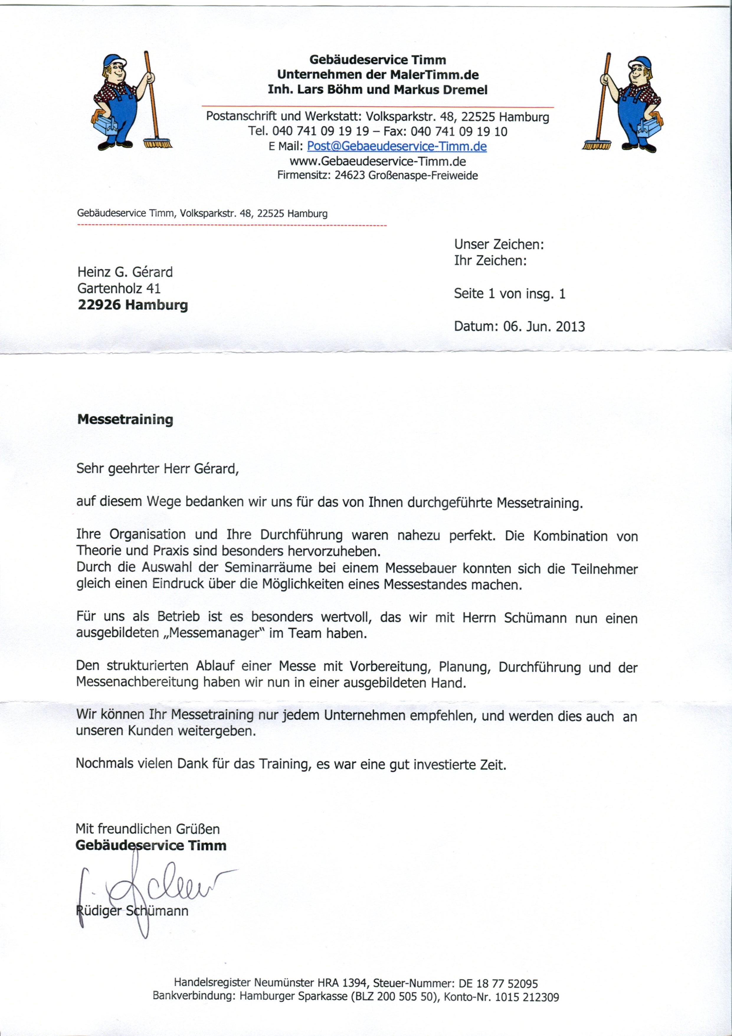 Empfehlungsschreiben - Workshops-Seminare.de
